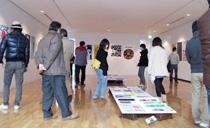 「東北支援メッセージポスター展」を企画