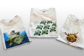 枯葉アートTシャツ